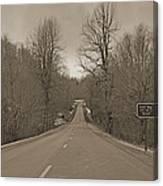 Love Gap Blue Ridge Parkway Canvas Print