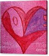 Love Heart 2 Canvas Print