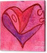 Love Heart 6 Canvas Print