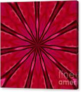 Love In An Orchid Kaleidoscope Canvas Print