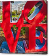Love In City Park New Orleans Canvas Print