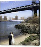 Love In The Afternoon - Dumbo Canvas Print