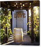 Love In The Vines Canvas Print