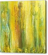 Love In Yellow Canvas Print
