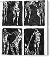 Love Is A Dance Canvas Print