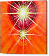 Love Is Light Canvas Print