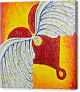 Love Is Taking Flight Canvas Print