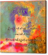 Love Is The Religion Canvas Print