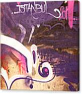 Love Istanbul 02 Canvas Print