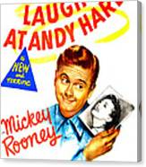 Love Laughs At Andy Hardy, Us Poster Canvas Print