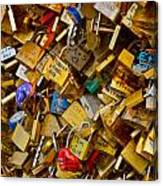 Love Locks Eternal Canvas Print
