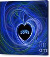 Love - Love - Love Canvas Print