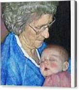 Woman, Redux Canvas Print