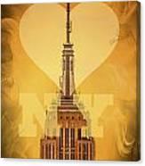 Love New York Canvas Print