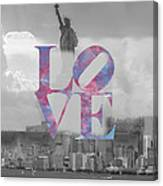 Love - New York City Canvas Print