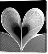 Love Reading Canvas Print