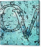 Love - S0301b01 Canvas Print