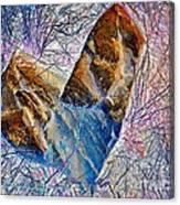 Love Stone Canvas Print