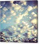 Love The Clouds Canvas Print