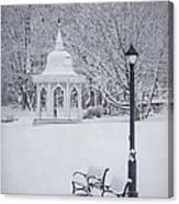 Love Through The Winter Canvas Print
