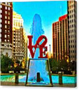 Love Town Canvas Print