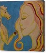Love Transforms Canvas Print