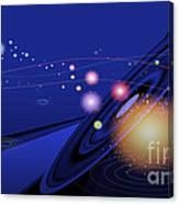 Love  Universe Canvas Print