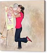 Love Your Art Canvas Print