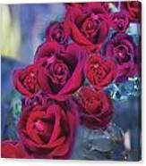 Loveflower Roses Canvas Print
