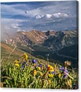 Loveland Pass Summer Canvas Print