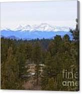Lovell Gulch Hiking Trail Canvas Print