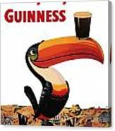 Lovely Day For A Guinness Canvas Print