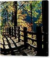 Lovely Day For Hike Canvas Print