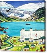 Lovely Lake Louise Canvas Print