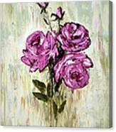 Lovely Roses Canvas Print
