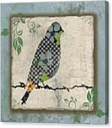 Lovely Song Bird-a Canvas Print