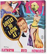 Lovely To Look At, Us Poster Art, Top Canvas Print
