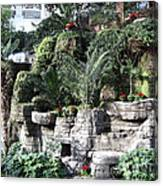 Lovely View Inside The Opryland Hotel In Nashville Tennessee 2009 Canvas Print
