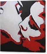 Lovers - Kiss 8 Canvas Print
