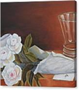 Loves Bouquet Canvas Print