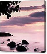 Lovina Sunset - Bali Canvas Print