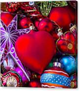 Loving Christmas Canvas Print