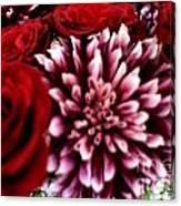 Lovr Flowers Canvas Print