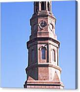 Low Angle View Of A Church, St. Philips Canvas Print