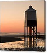 Low Lighthouse Sunset Canvas Print