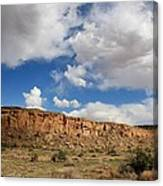Low Lying Clouds Canvas Print