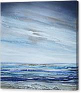 Low Newton Beach Rhythms And Textures 3 Canvas Print