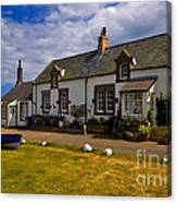 Low Newton By The Sea Canvas Print