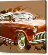 Low Rider Car Canvas Print