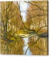 low sun IMP 1 nov 2014 Canvas Print